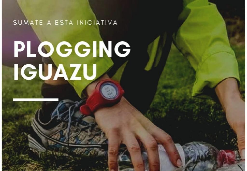#NaEstrada Com o Plogging de Puerto Iguazú