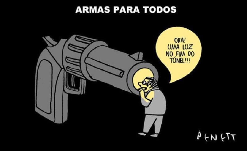 TRIBUNA DA INTERNET   Assessorado pelo major-jurista, Bolsonaro erra de  novo o decreto do porte de armas