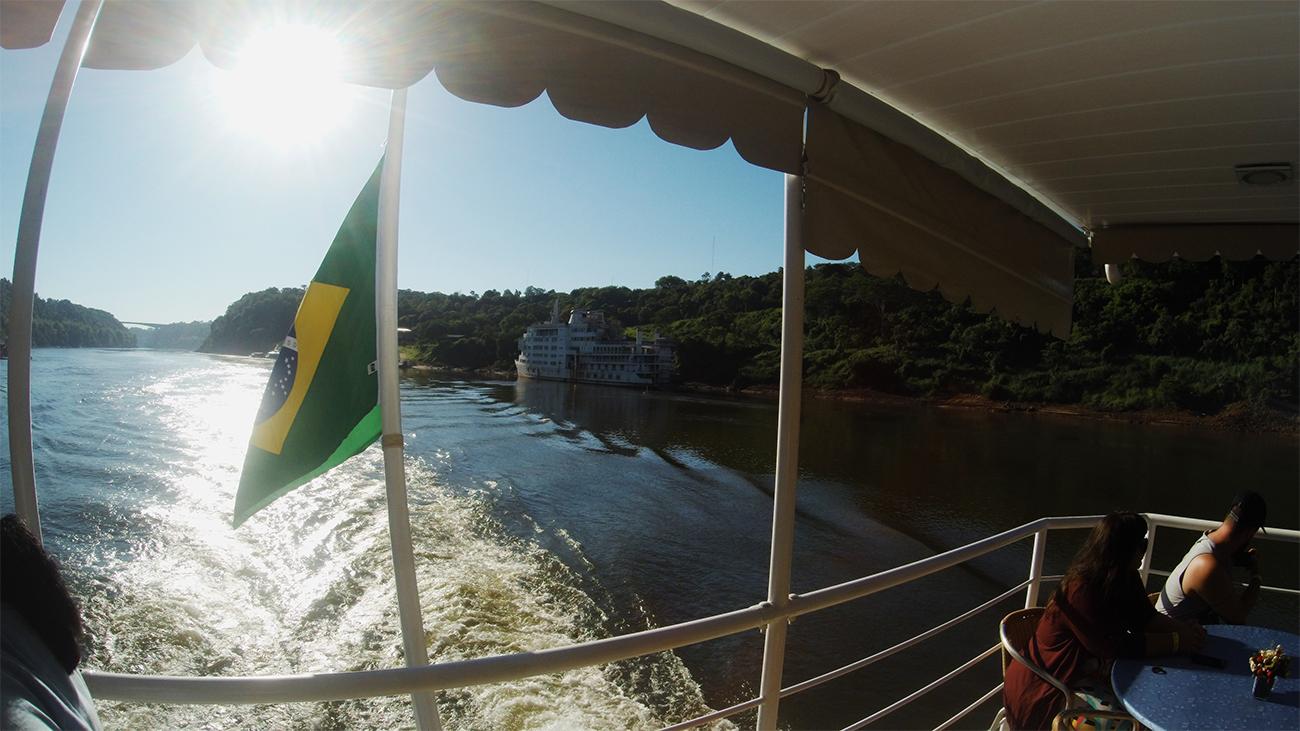 Conheça a atração de Foz que alia história, passeio no Rio Paraná e café colonial