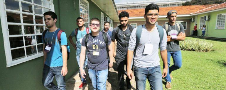 estudantes unila