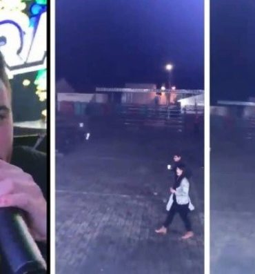 Cantor viraliza após mostrar show vazio em Foz do Iguaçu e famosos se solidarizam