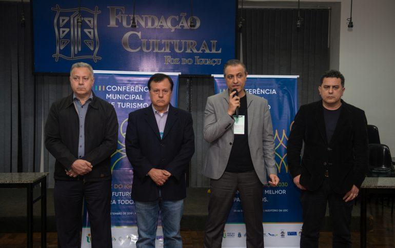 Faisal Ismail, presidente da ACIFI, destacou a união do setor empresarial - foto Marcos Labanca