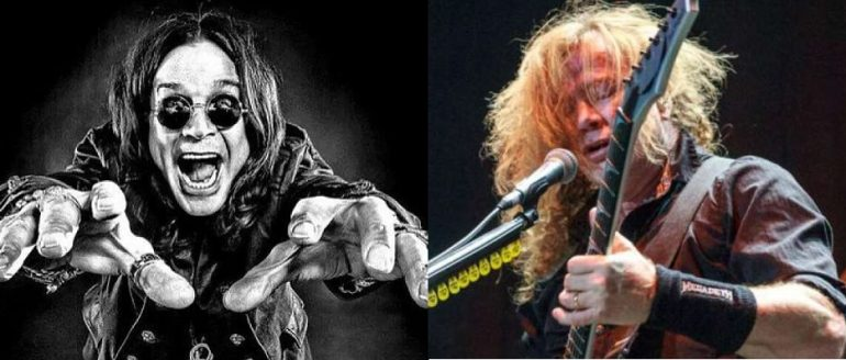 ozzy e mustaine