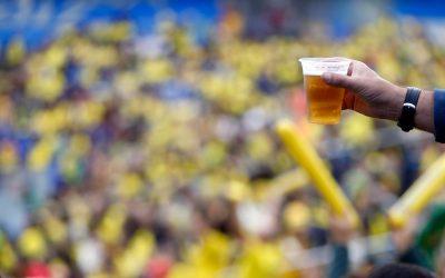 bebida nos estadios