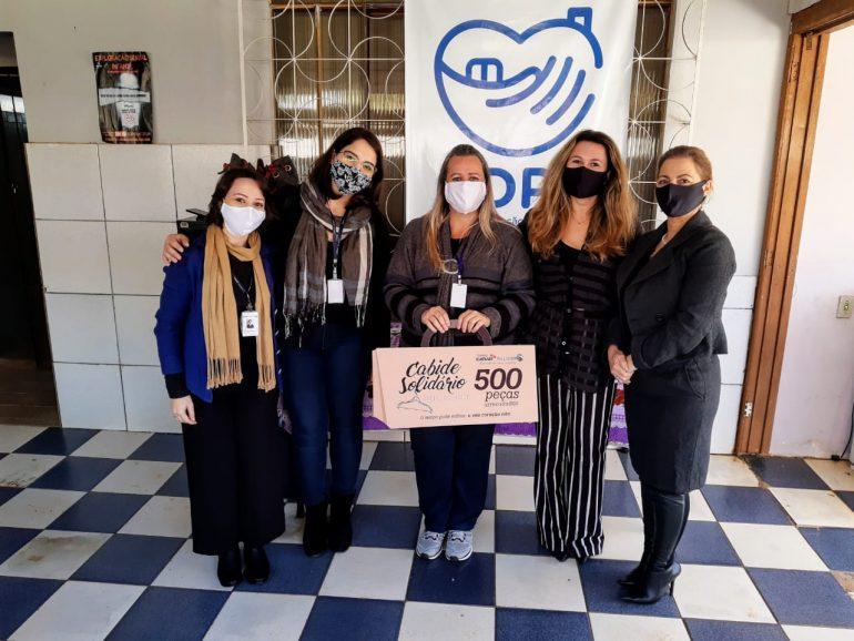 Catuaí Palladium Shopping Center entrega doações para Casa de Proteção Temporária Acolher