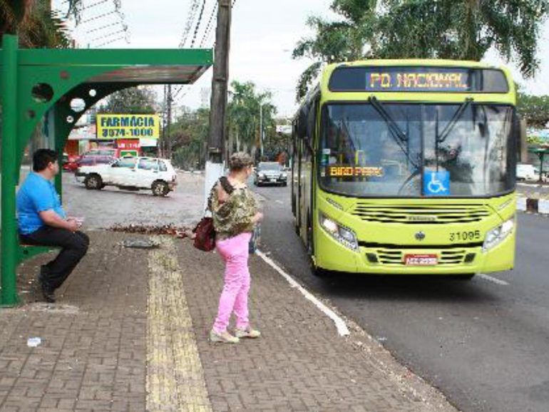 ônibus em foz