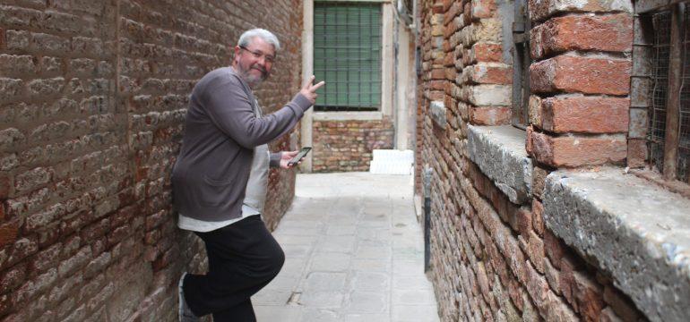 Jornalista Ronildo Pimentel em Veneza