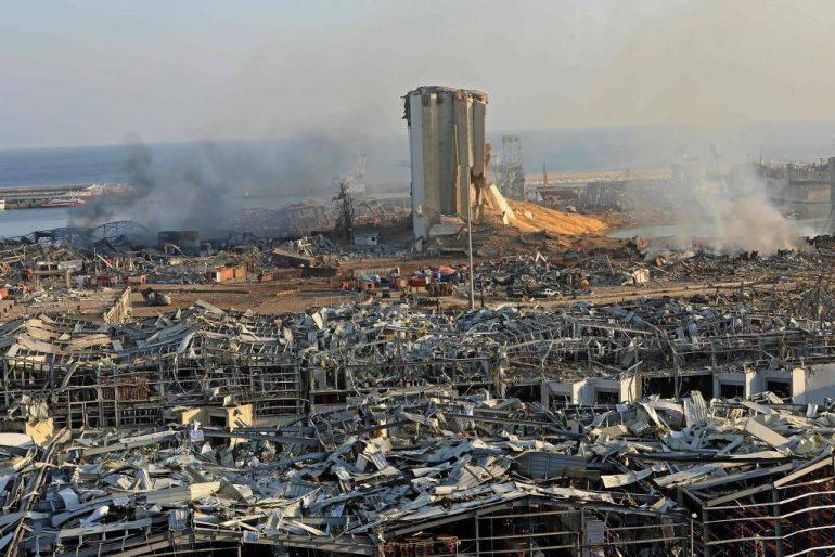 Área destruída (Anwar Amro AFP)