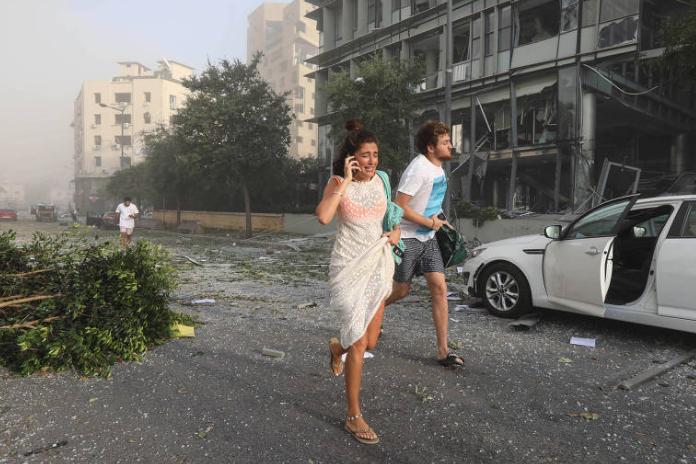 Explosão Foto Reuters0
