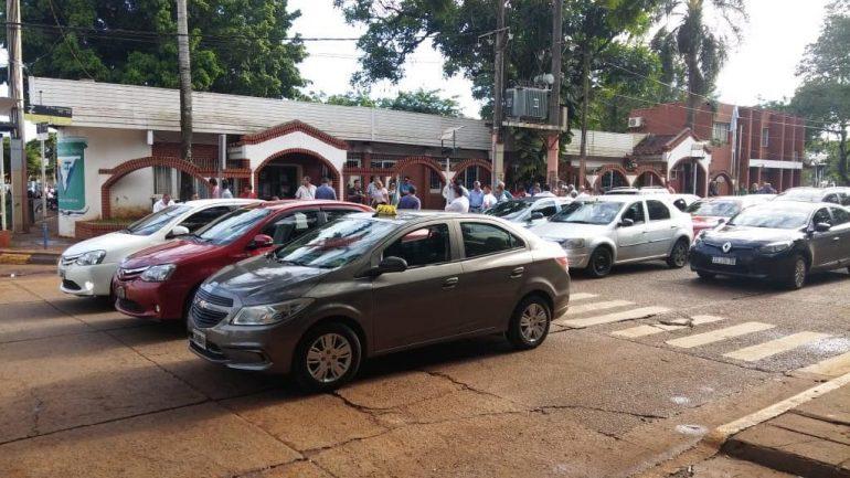 protesto puerto iguazu