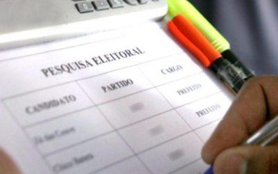 Pesquisa Eleitoral (Foto Arquivo GDia)