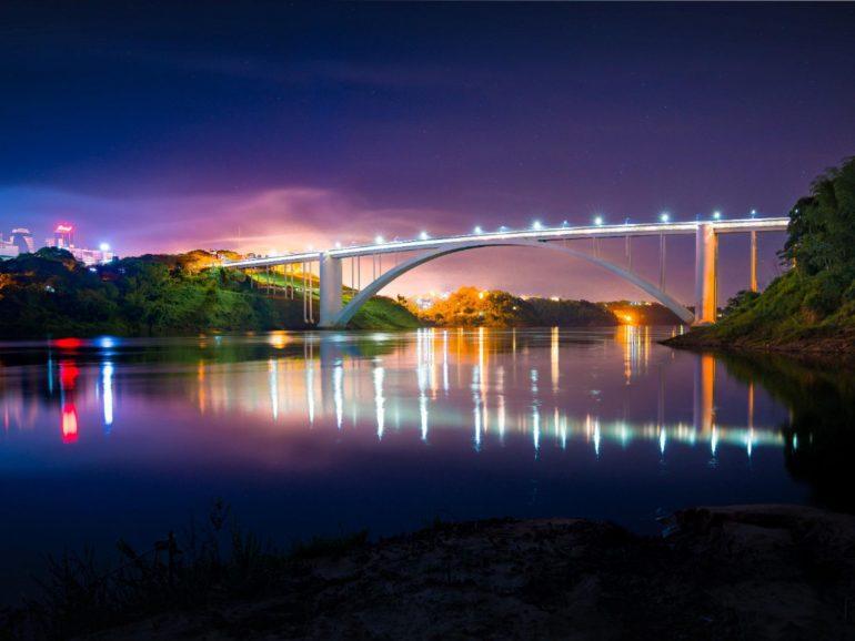 Ponte da Amizade (Foto Alexandre Marchetti Itaipu)