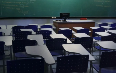 Sala de aula (Foto EBC)