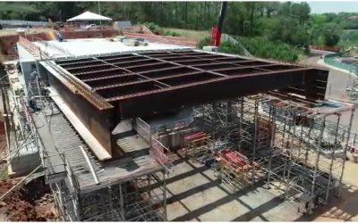 Tabuleiro ponte integração