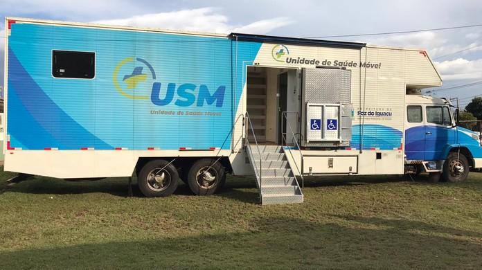 unidade de saúde móvel