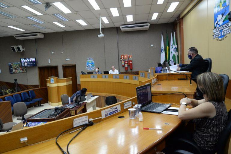 Câmara de Foz (Foto Diretoria de Comunicação CMFI)