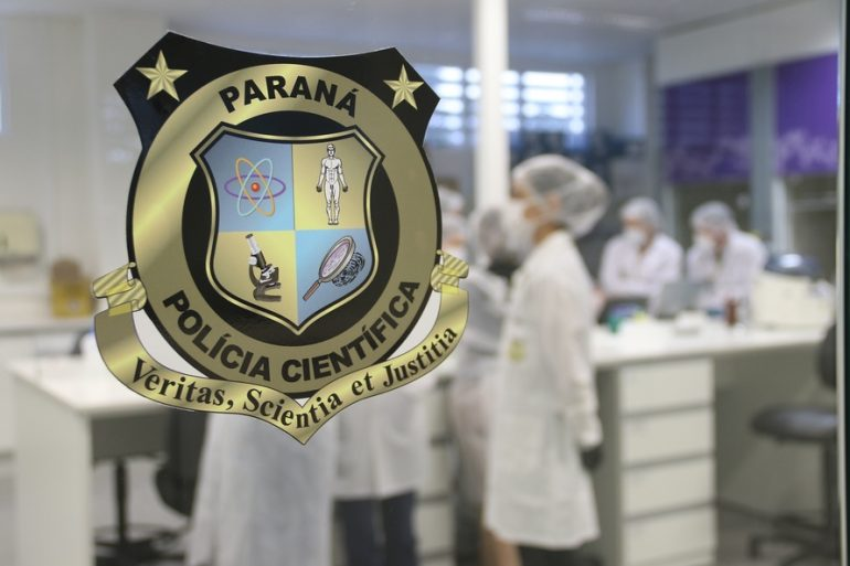 Polícia científica (Foto SESP PR)