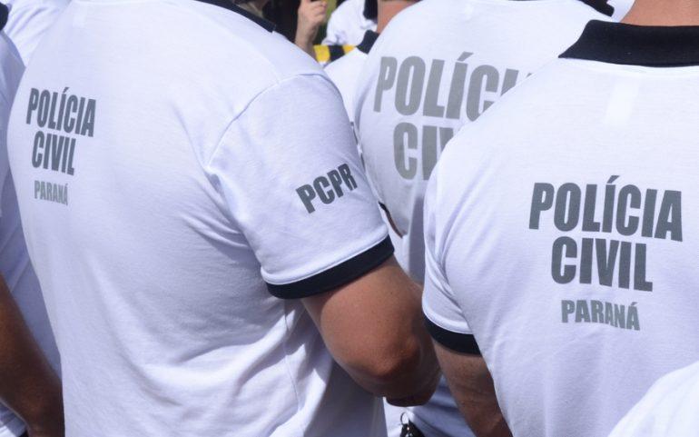 Polícia civil (Foto Fábio Dias)