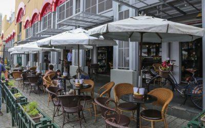 lanchonetes e restaurantes (Foto SMCS)