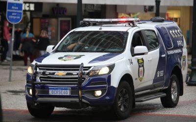 Guarda Municipal de Curitiba (Foto Gerson Klaina Tribuna do Paraná)