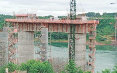 Ponte da integração (Foto Itaipu Paraguai)